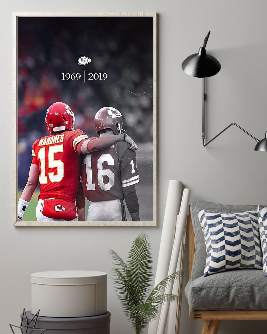 1969 - 2019 kansas city chiefs champion poster 2