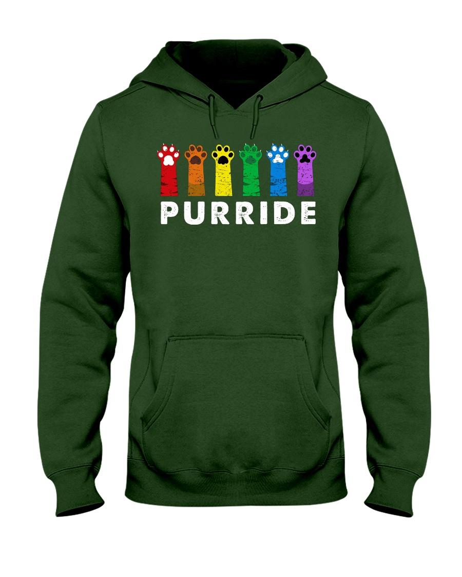Gay pride cat lgbt purride hoodie