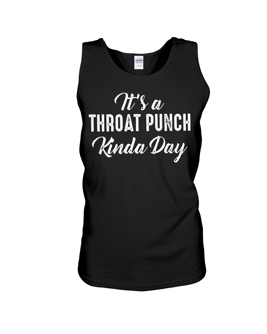 It's a throat punch kinda day tank top