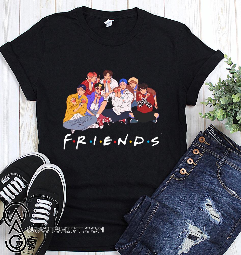 BTS friends tv show shirt