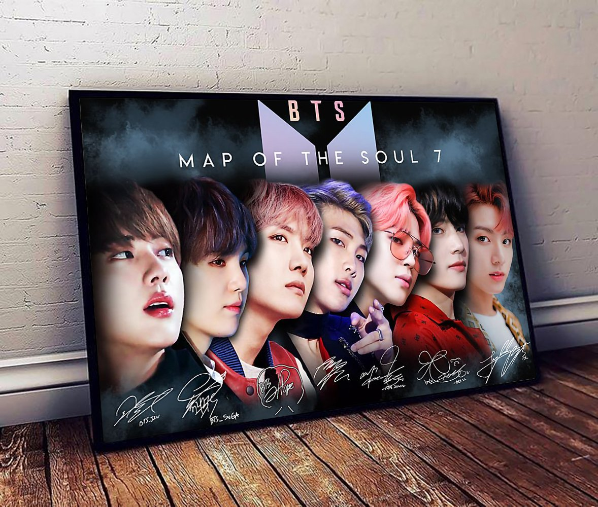 BTS map of the soul 7 poster 2