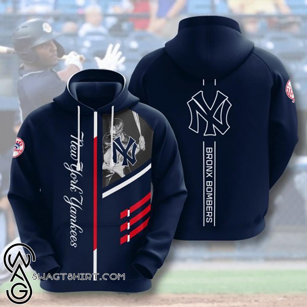 Bronx bombers new york yankees full printing shirt