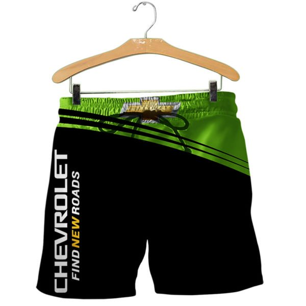 Chevrolet find new roads full printing shorts
