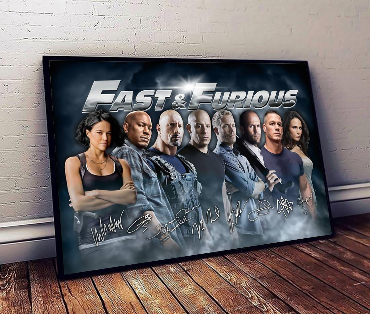 Fast and furious canvas 1