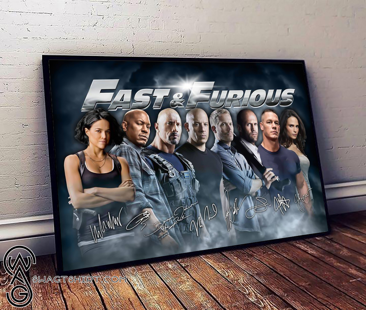 Fast and furious canvas