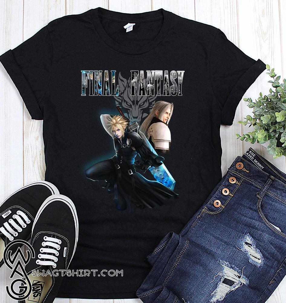 Final fantasy poster shirt