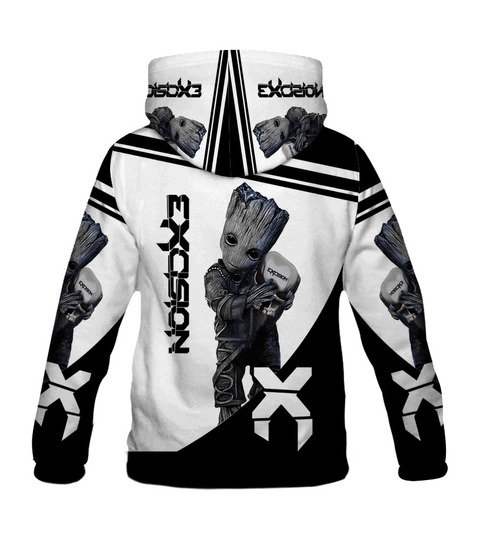 Groot hold exosion full printing hoodie 1