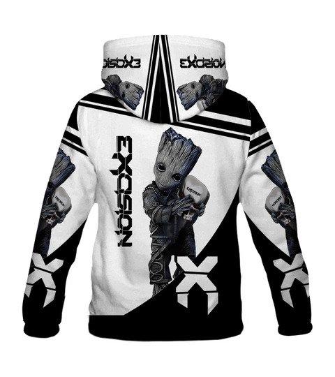 Groot hold exosion full printing hoodie 3