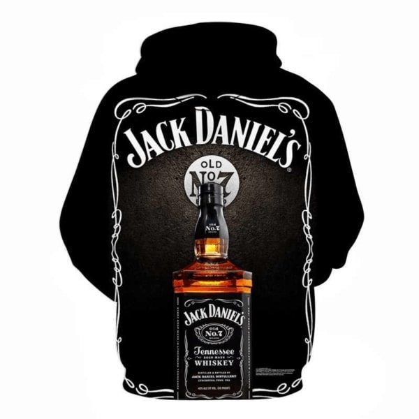 Jack daniel's old no 7 tennessee whiskey full printing hoodie 3