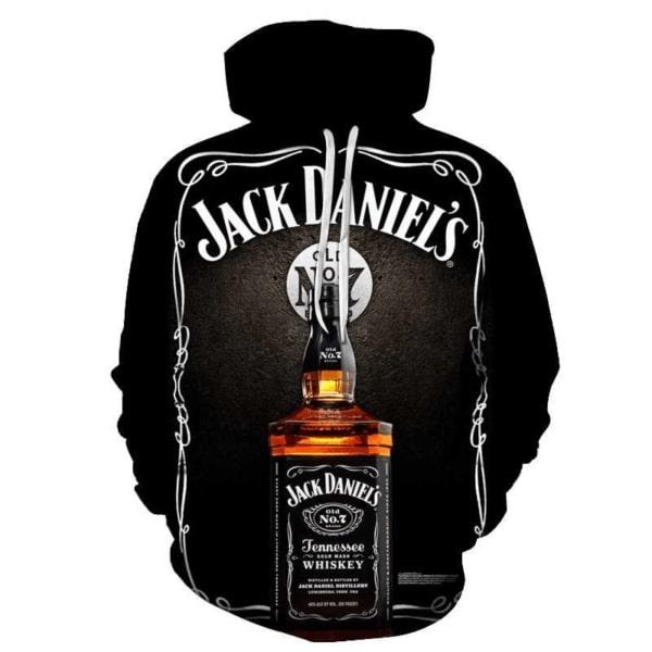 Jack daniel's old no 7 tennessee whiskey full printing hoodie