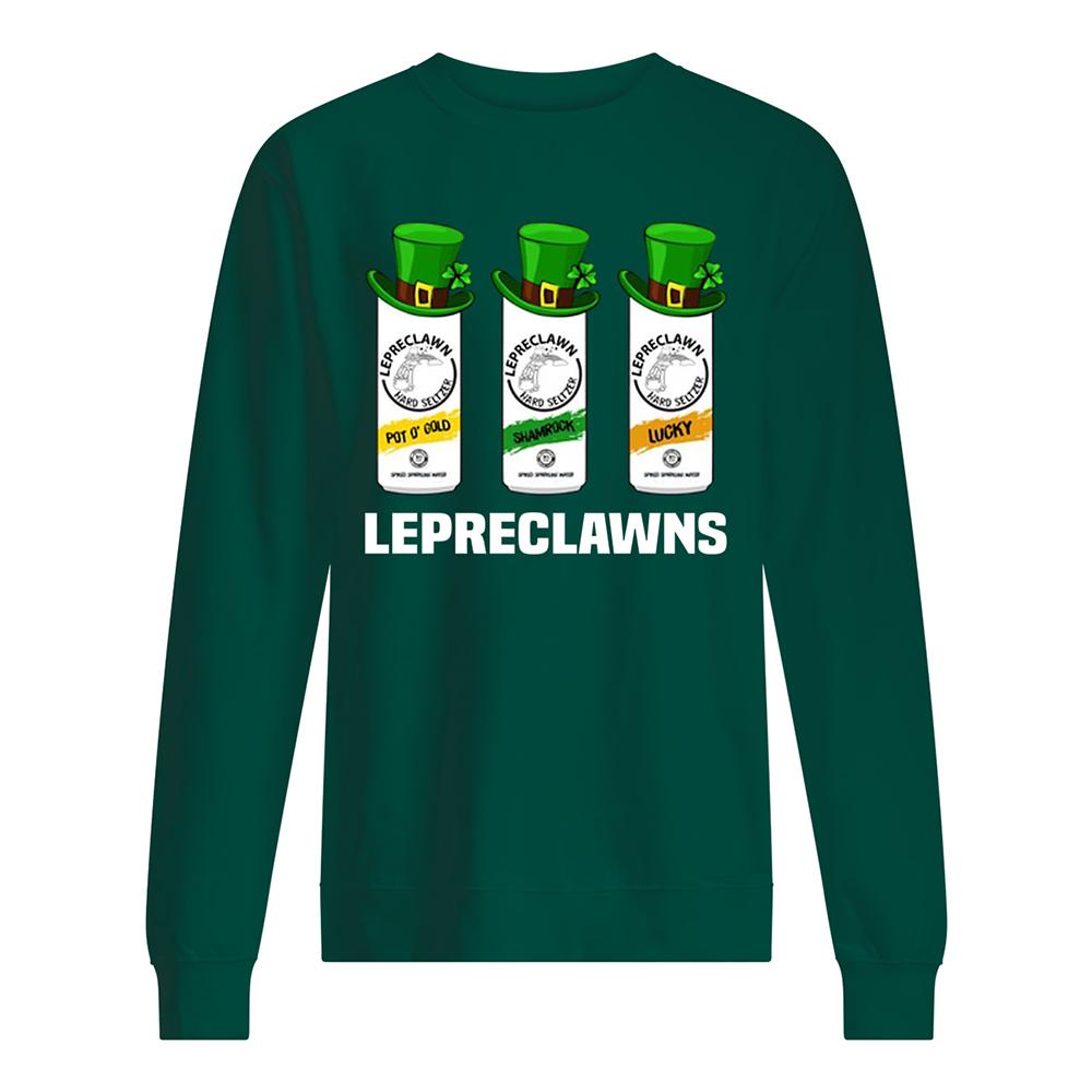 Lepreclawns saint patrick's day sweatshirt