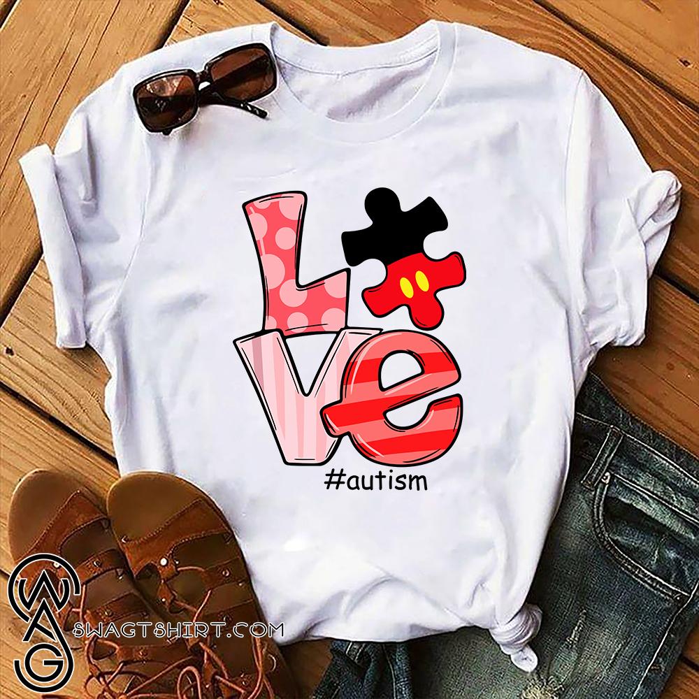 Love autism awareness shirt
