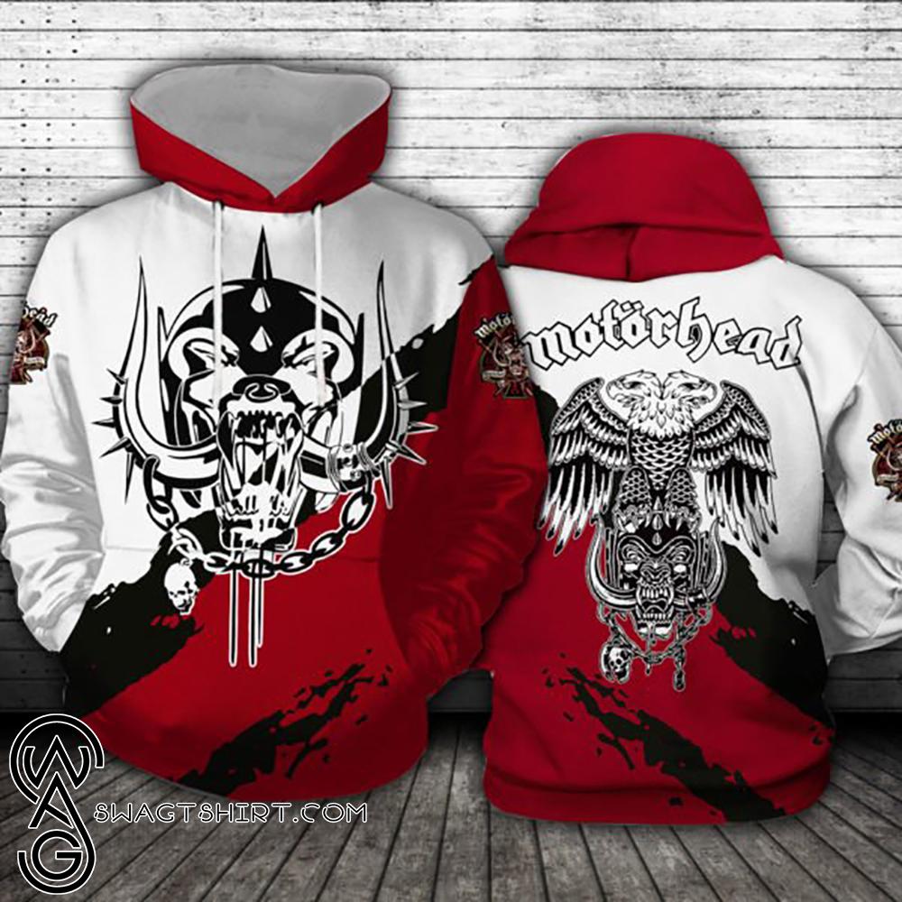 Motorhead logo full printing shirt