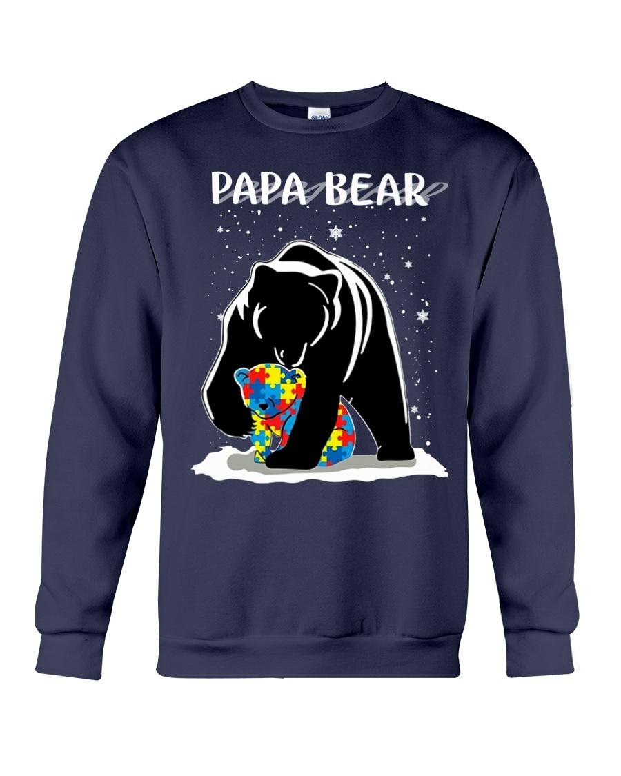 Papa bear autism awareness sweatshirt