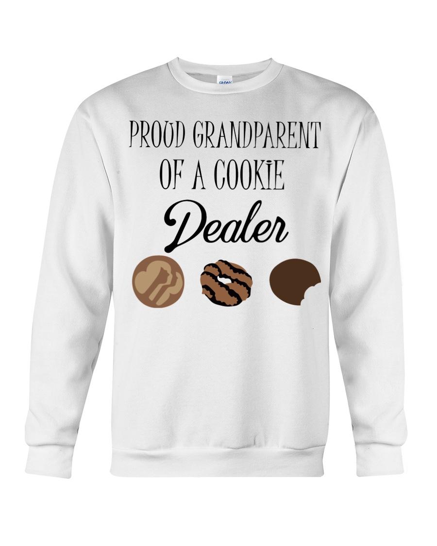 Prood grandparent of a cookie dealer sweatshirt