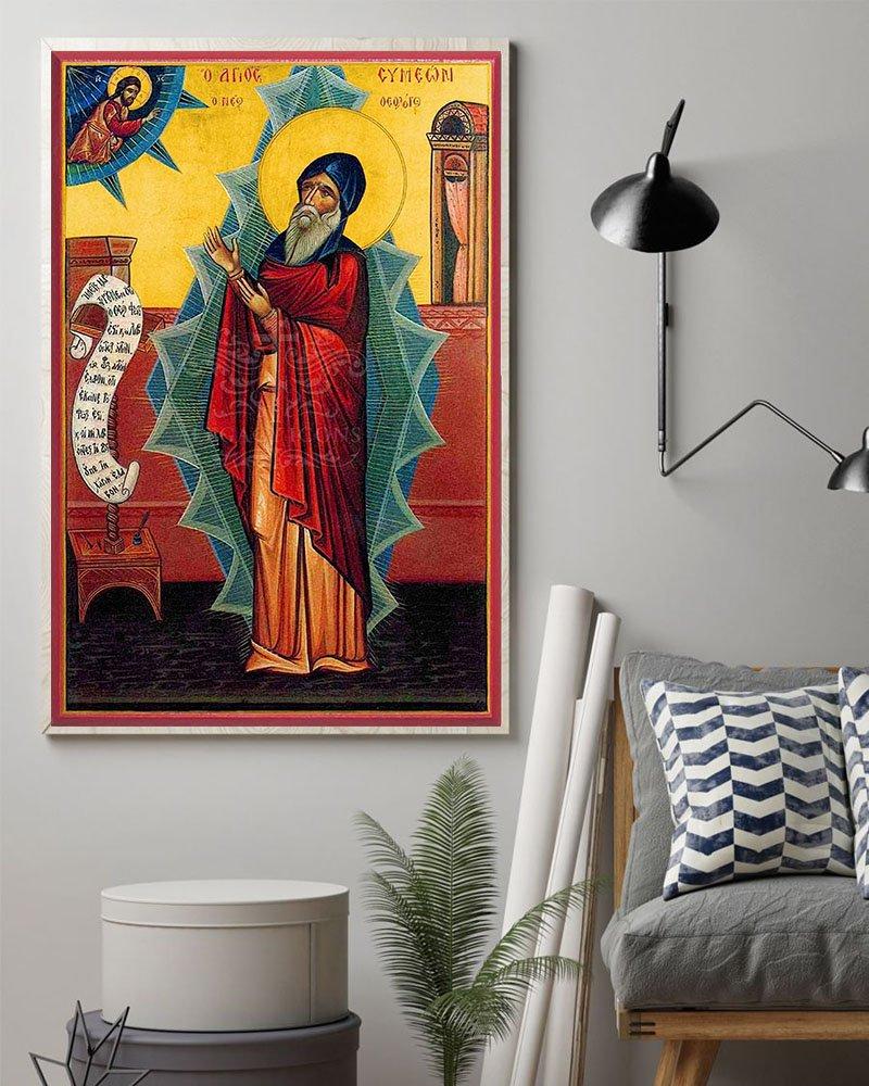 Saint simeon the new theologian poster 1