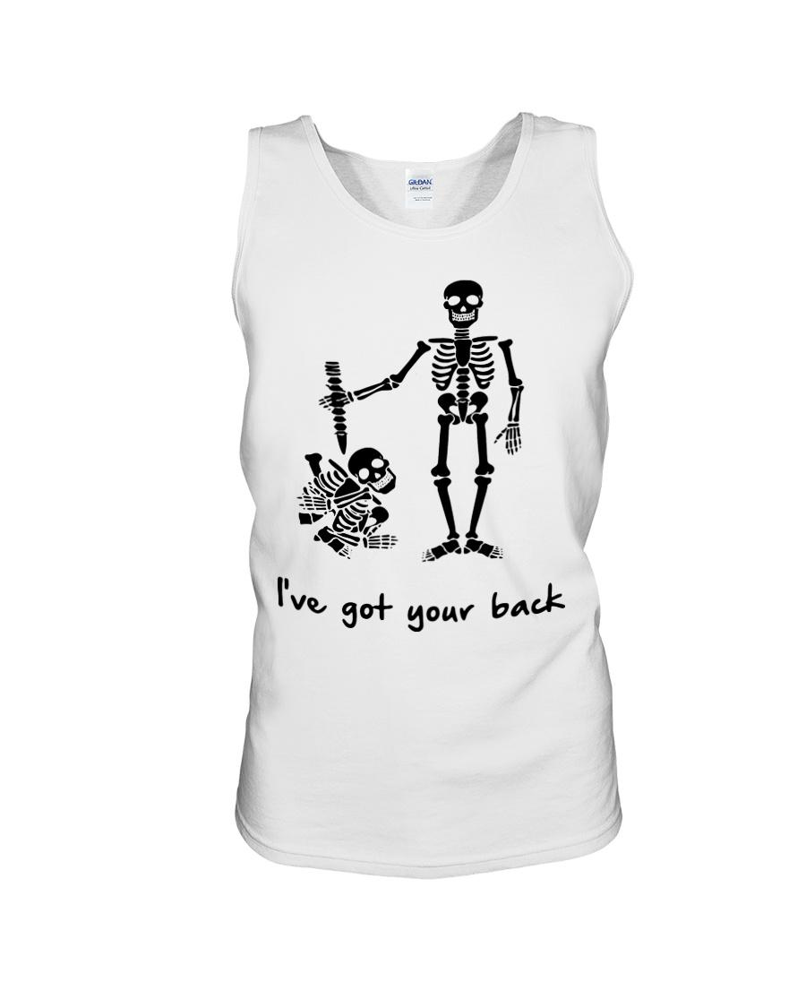 Skeleton i've fot your back tank top