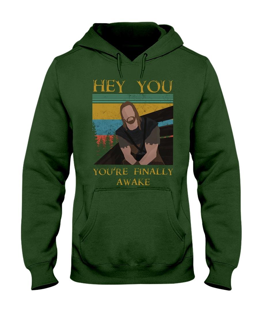 Skyrim hey you you're finally awake hoodie