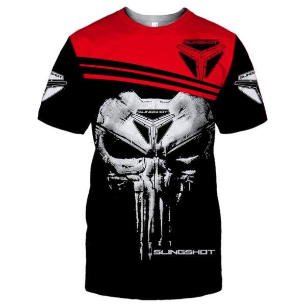 Slingshot skull full printing tshirt