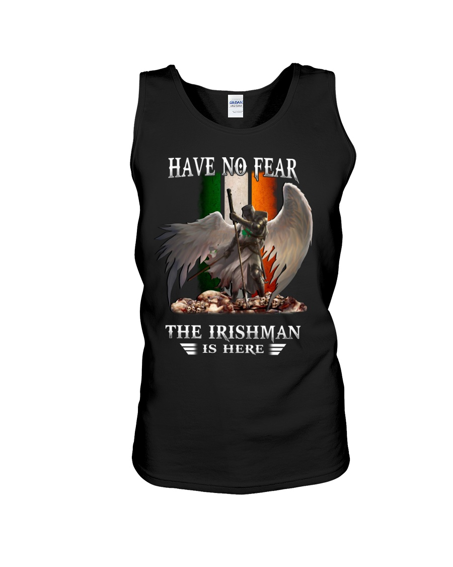 St patrick's day have no fear the irish is here tank top