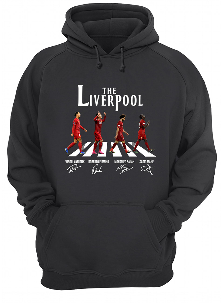 Abbey road the liverpool fc hoodie