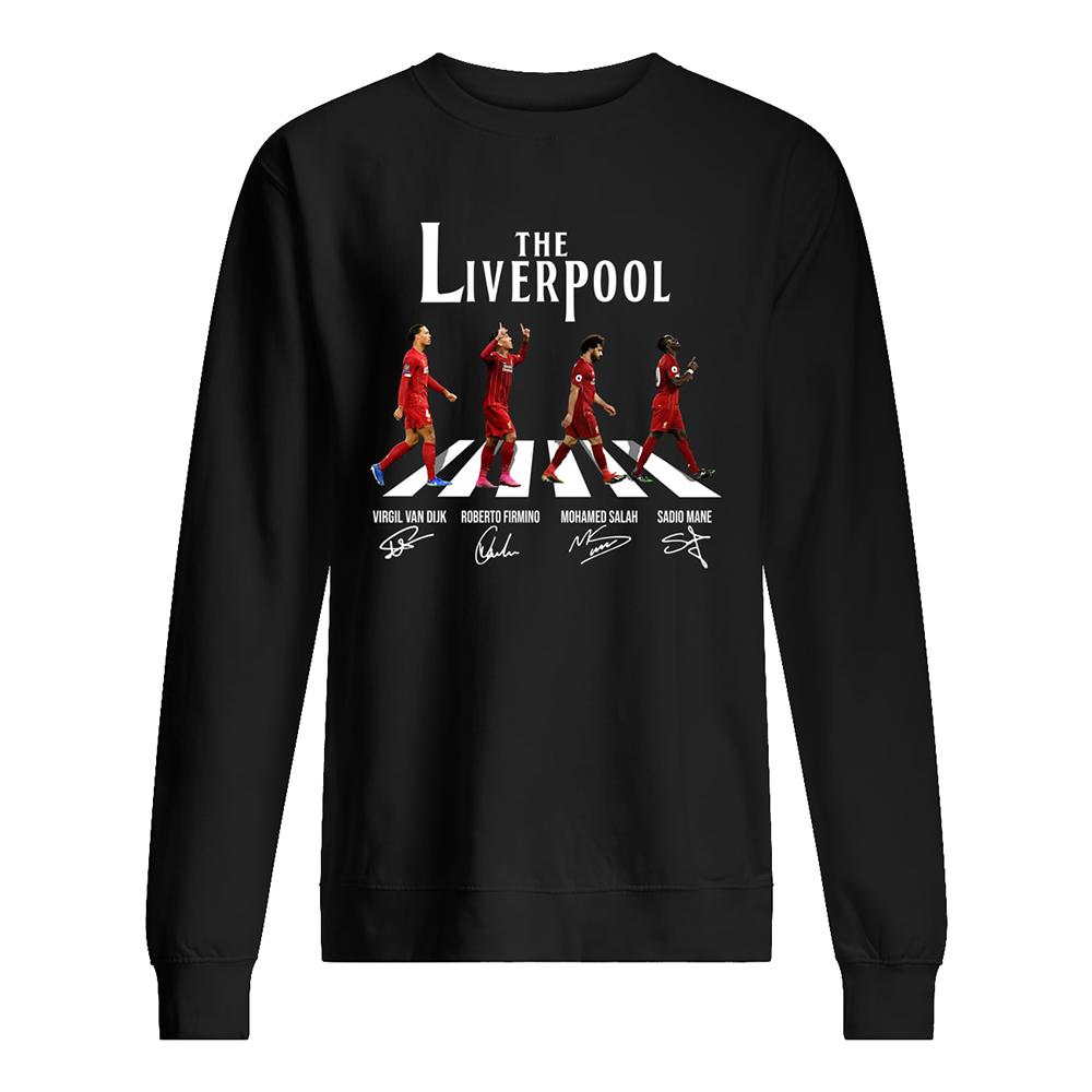 Abbey road the liverpool fc sweatshirt