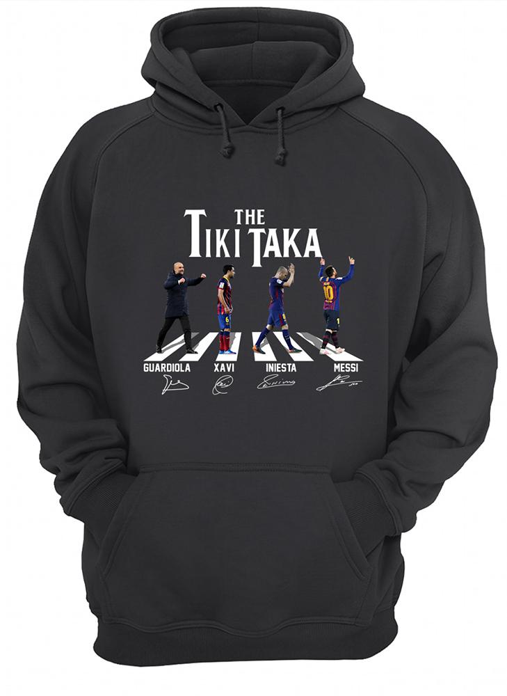 Abbey road the tiki taka hoodie
