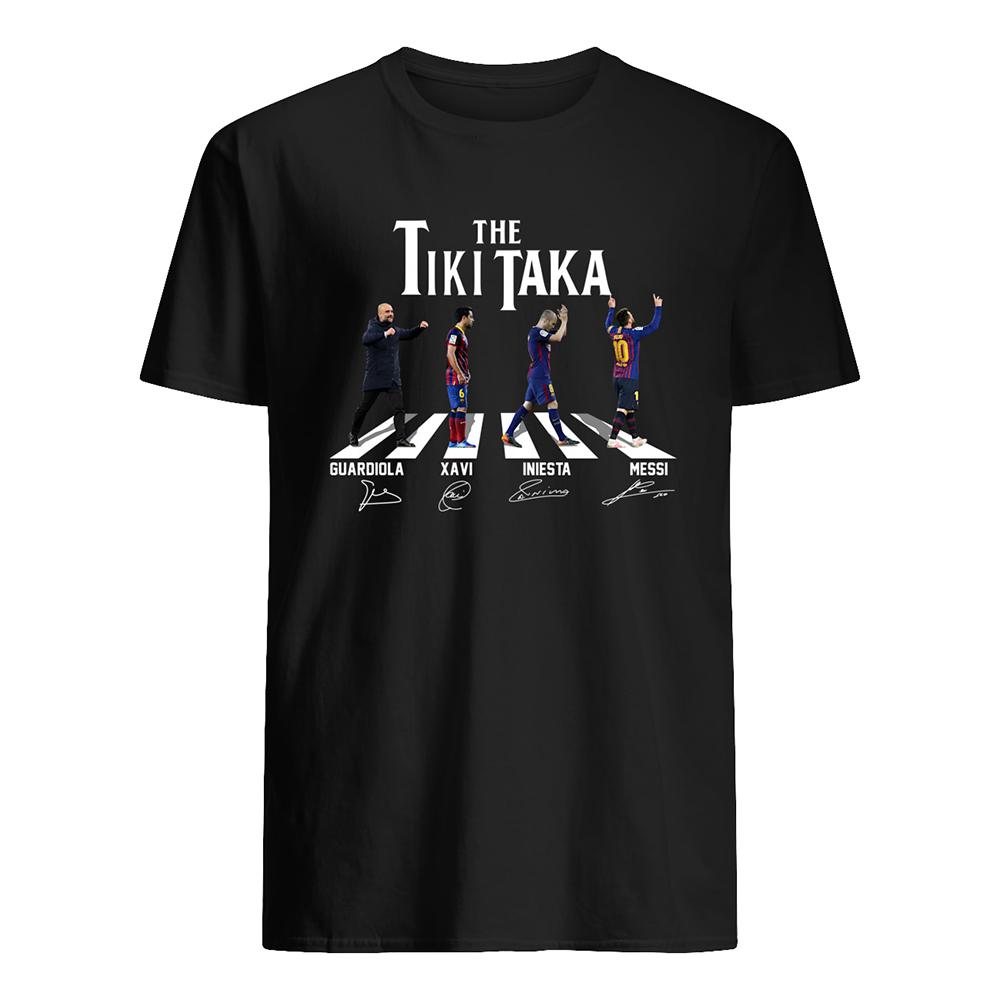 Abbey road the tiki taka mens shirt