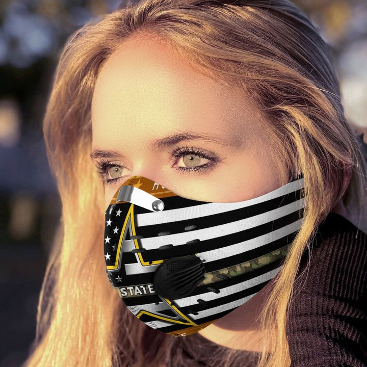 American army filter activated carbon face mask 4