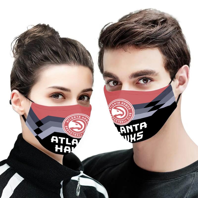 Atlanta hawks full printing face mask 2