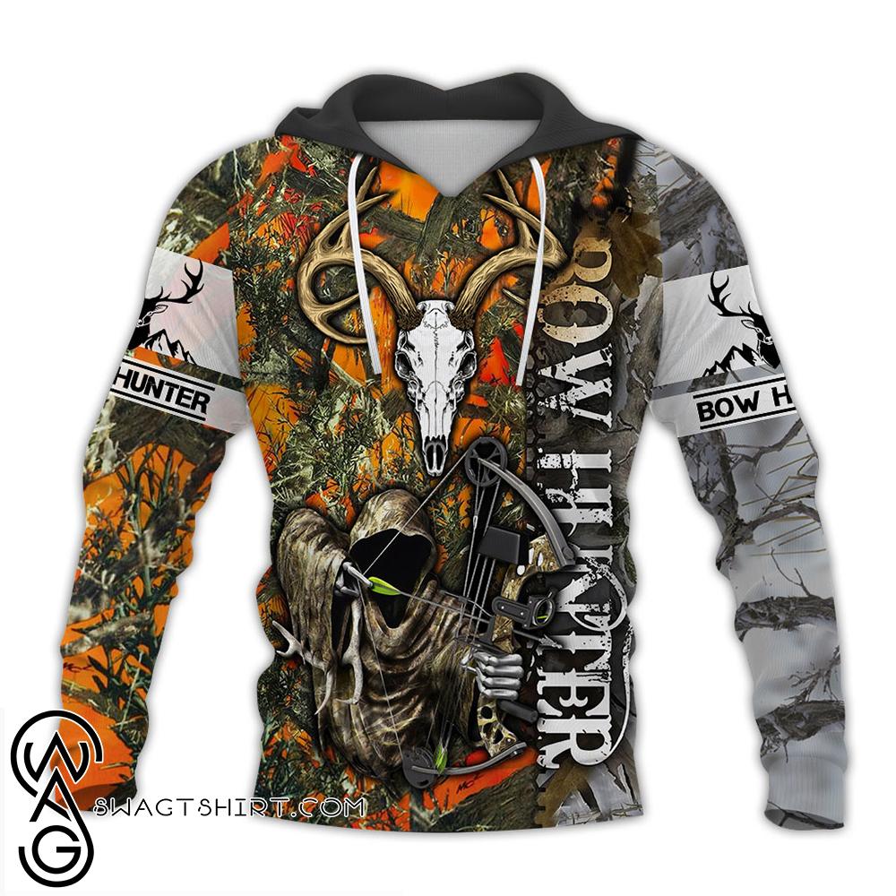 Bow hunting full over print shirt