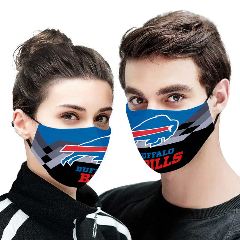 Buffalo bills full printing face mask 2