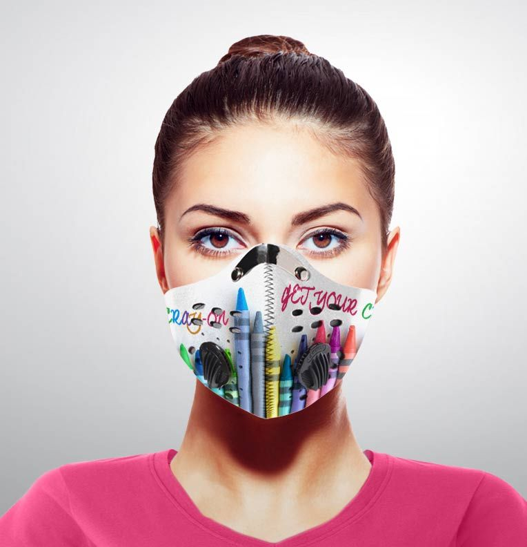 Get your cray-on carbon pm 2,5 face mask 3