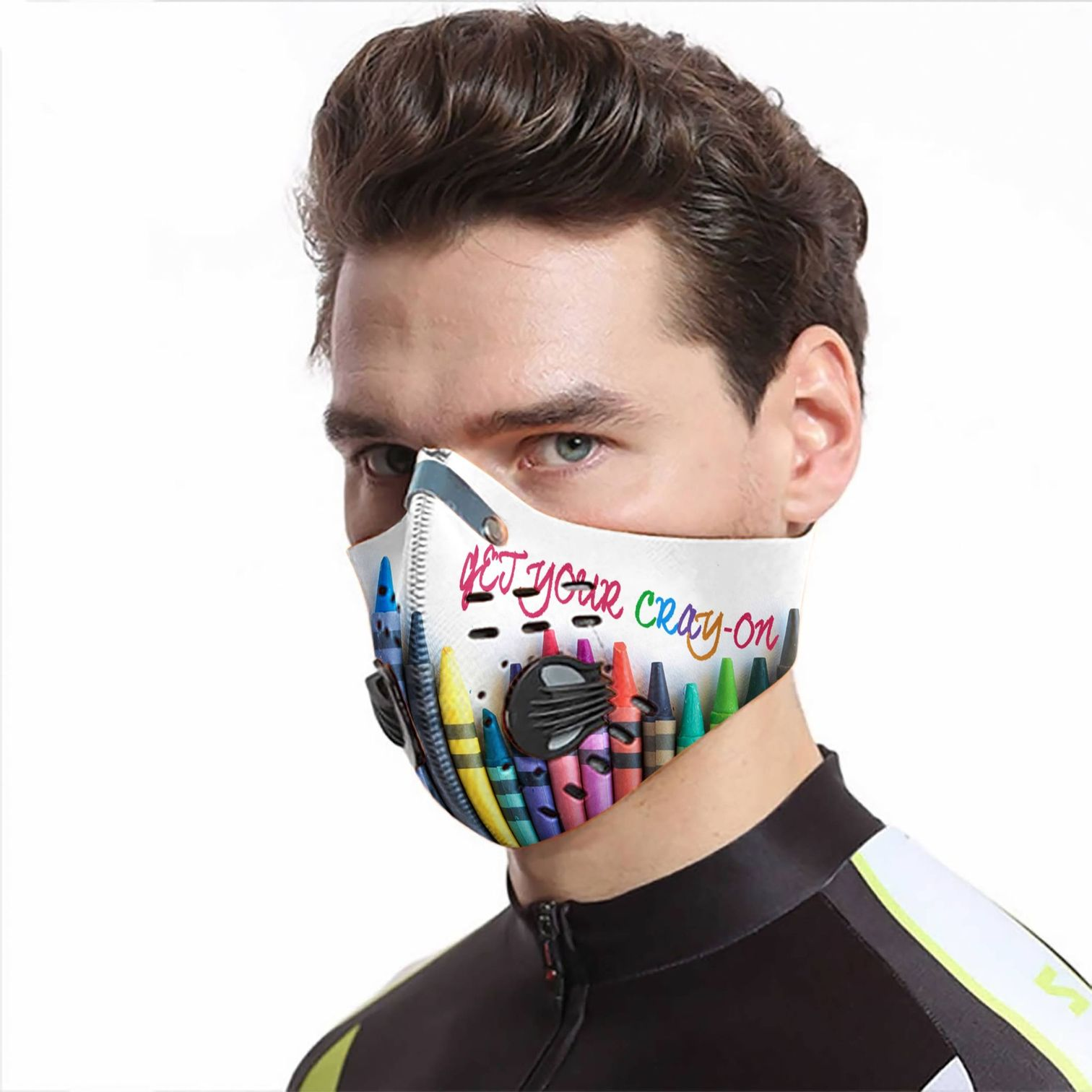 Get your cray-on carbon pm 2,5 face mask 4