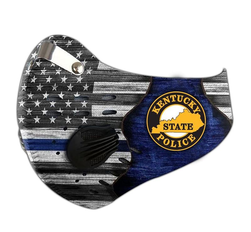Kentucky state police filter activated carbon face mask 2