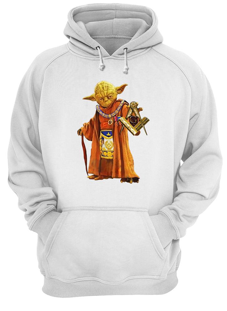 Master yoda freemason brother hoodie