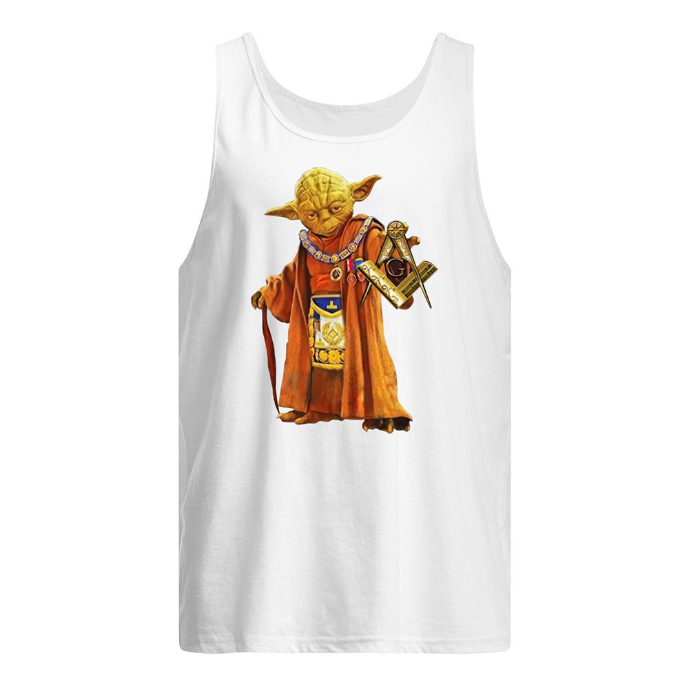 Master yoda freemason brother tank top