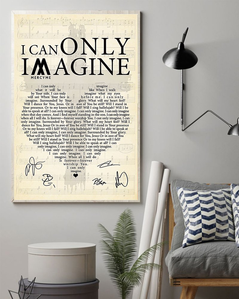 Mercyme i can only imagine lyrics poster 2