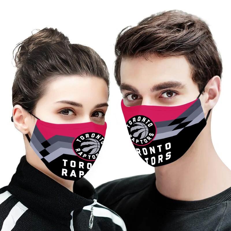 NBA toronto raptors full printing face mask 3