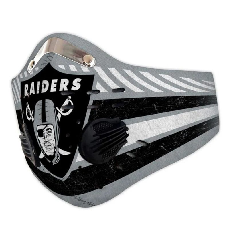 NFL oakland raiders full printing face mask 3