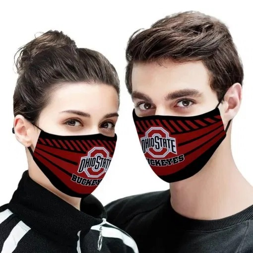 NFL ohio state buckeyes full printing face mask 1