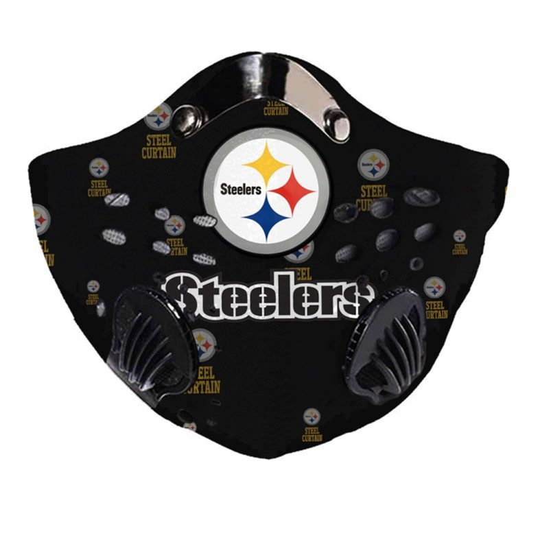 NFL pittsburgh steelers full printing face mask 1