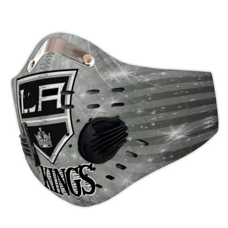 NHL los angeles kings full printing face mask 3