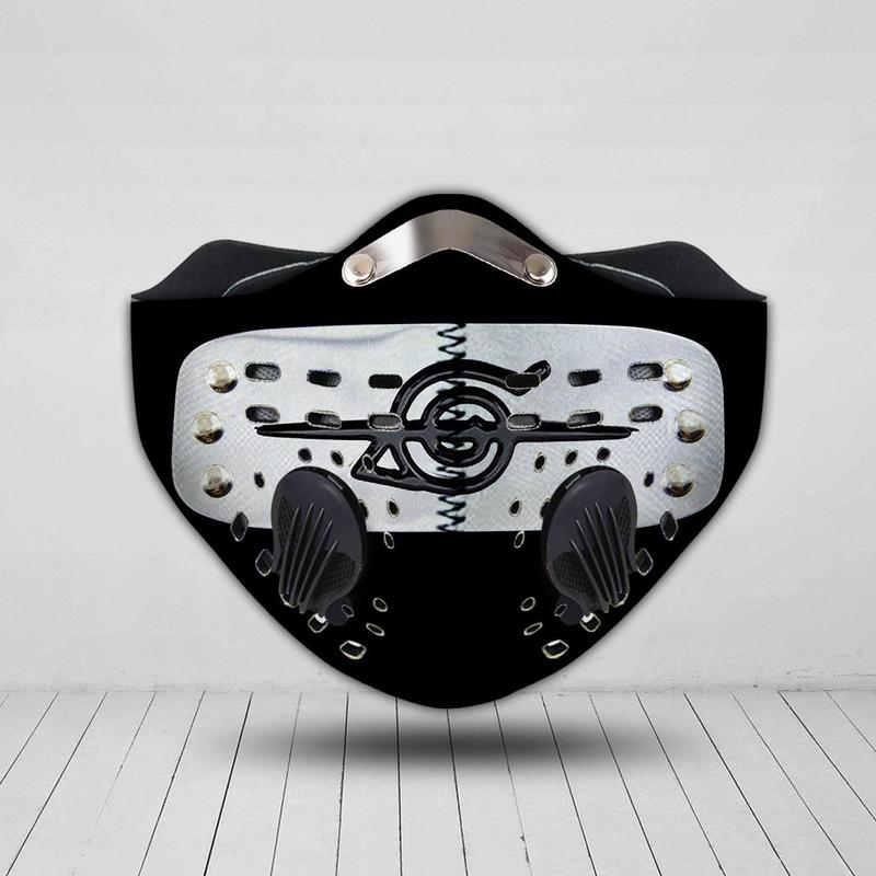 Naruto symbol filter activated carbon face mask 3