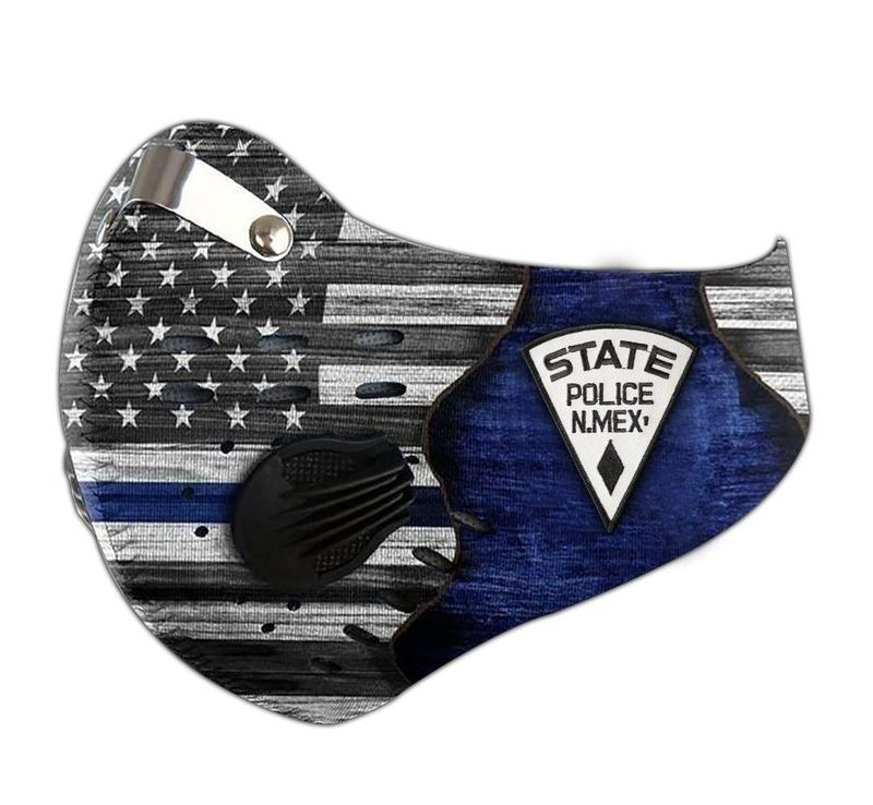 New mexico state police filter activated carbon face mask 3