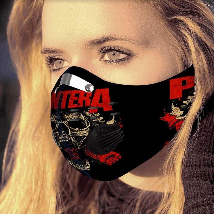 Pantera carbon pm 2.5 face mask