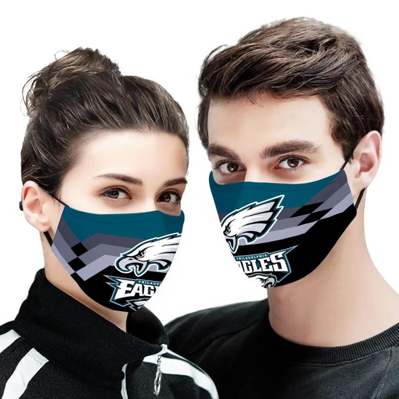 Philadelphia eagles full printing face mask 2