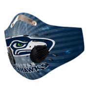 Seattle seahawks carbon pm 2,5 face mask 4