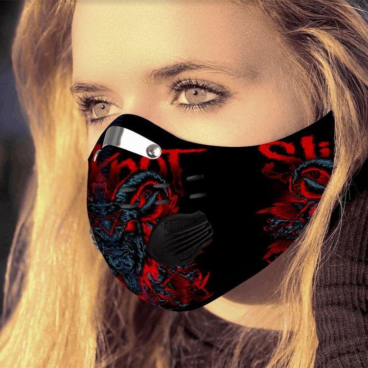 Slipknot satanic carbon pm 2,5 face mask 1