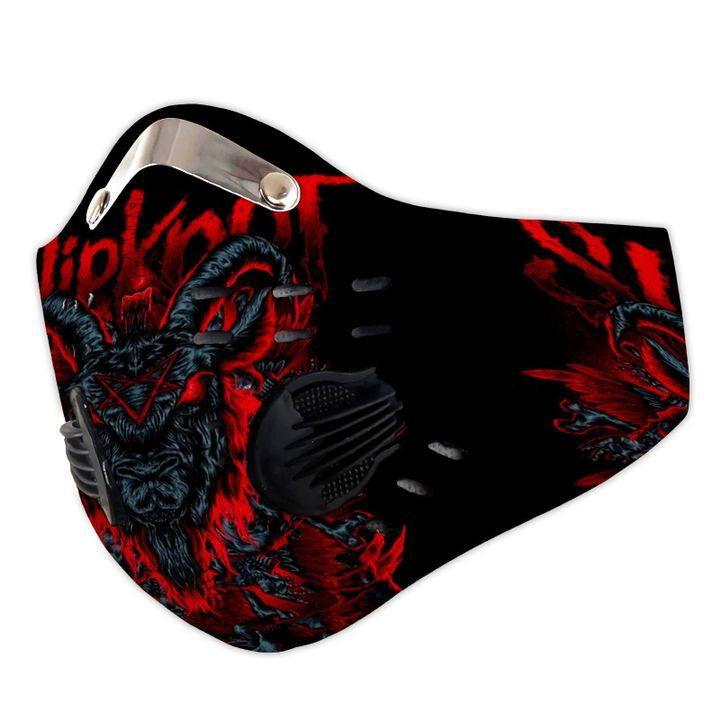 Slipknot satanic carbon pm 2,5 face mask 3